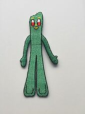 Gumby Cartoon Embroidered Patch Iron on or Sew on