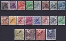 Berlin Mi Nr. 1 - 20 TOP alle geprüft Schlegel BPP, gest. meist rund, 1948