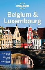 Lonely Planet Belgium & Luxembourg (Travel Guide)-ExLibrary