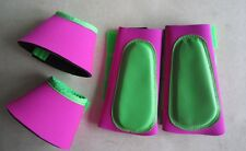 Horse Boots 1 Pair Brush boots & 1 Pair Bell boots. Choose your size & Colours