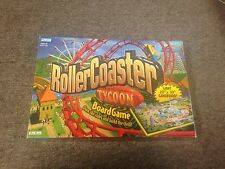 """authentic PARKER BROTHERS ROLLERCOASTER TYCOON BOARD GAME AGES 8+ 20"""" X 30"""" cool"""