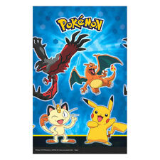 "54"" x 96"" Pikachu & Friends Pokemon Birthday Party Plastic Table Cover"