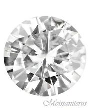 Loose Round Forever Classic 10.5mm Moissanite = 4 CT Diamond with Certificate