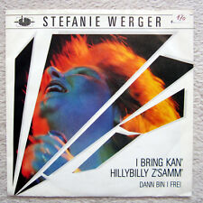Single / STEFANIE WERGER / ATOM AUSTRIA / RARITÄT / 1983 /
