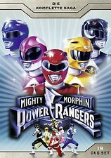 MIGHTY MORPHIN POWER RANGERS COMPLETE SEASON 1 2 & 3 BOX -  DVD - PAL Region 2