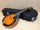Smoky Mountain SM68VSB A-style,F-holes Mandolin sunburst w/Lockable Hard Case
