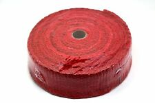 "CERAMIC FIBRE HEAT WRAP TAPE EXHAUST MANIFOLD, 2"" WIDTH, 2MM LENGTH 10M RED"