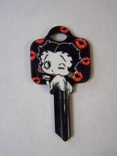 "Betty Boop ""Kisses"" Schlage House Key Blank / New"