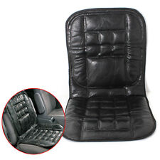 Leather Back Support Front Seat Cover Cushion Chair Massage For VW Car Taxi Van