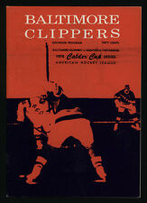 1970 CALDER CUP, BETWEEN THE BALTIMORE CLIPPERS & THE MONTREAL VOYAGERS, PROGRAM