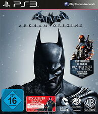 Batman: Arkham Origins -- Day One Edition (Sony PlayStation 3, 2013, DVD-Box)