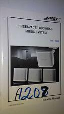 Bose freespace business music service manual original repair book stereo speaker