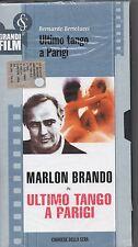 ULTIMO TANGO A PARIGI VHS Bernardo Bertolucci MARLON BRANDO Maria Schneider
