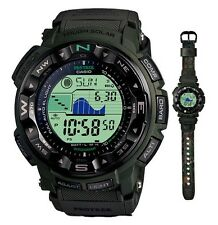 CASIO PROTREK MENS WATCH PRG-250B-3 MOON TIDE DATA TRIPLE SENSOR PRG-250B-3DR