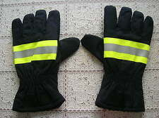 02's series China CAPF Fire brigade Firefighter Fireproof Gloves,New.