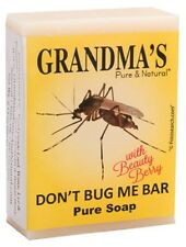1 Bar of Grandmas Don't Bug Me 2.15 oz Repels Mosquitoes Effectively