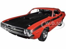 1970 DODGE CHALLENGER T/A  ORANGE 1:24 DIECAST MODEL CAR  BY WELLY 24029