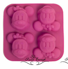 SILICONE MINNIE MOUSE cupcake muffin stampo cioccolato Jelly CUP CAKE PAN stampo TIN