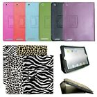 Portfolio PU Leather Case Cover Skin Pouch for Apple Ipad 2 3 4 wake/sleep NEW!