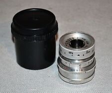 HAND MADE M39 mount USSR SILVER LOMO T-43 f4/40 LENS from SMENA-8m (ITEM №23)