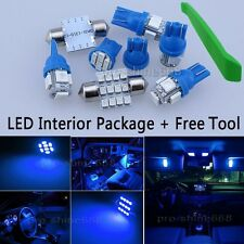 Interior Car LED Bulbs Light KIT Package Blue 10000K For VAUXHALL ASTRA H MK5