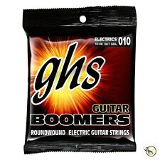GHS GBL Boomers Nickel-Plated Steel Light Electric Guitar Strings 10-46