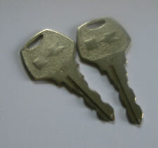 KAWASAKI VINTAGE SNOWMOBILE QTY 2 IGNITION KEYS #30 NEW OLD STOCK 27008-3511