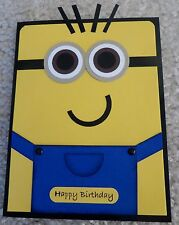 Stampin Up Card Kit - Minion Birthday - Set of 4 Cards