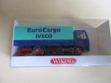 """Wiking H0 IVECO Pritschen LKW """"EuroCargo"""", unbespielt im OK !!!"""