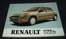 Betriebsanleitung Handbuch Renault Clio I Typ 57 Bedienungsanleitung 12/1992