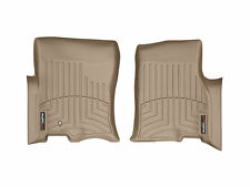 WeatherTech Custom Designed FloorLiner - Part # 451071 - 1st Row Tan