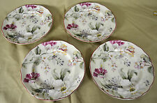 """SET of FOUR  -   222 Fifth GISELA CREAM 6-1/2"""" Appetizer Plate   -  SET of 4"""