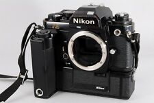 Exc++ Nikon FA 35mm SLR Film Camera Black MD-15 from Japan a-084