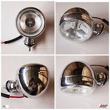 1x CROMO MOTO Nebbia Spot luce che passa per Auto Suv Atv Quad Offroad Camion Lampada