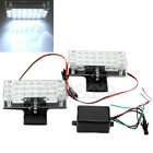 2X22 NEW LED White Car Truck Recovery Security Strobe Light