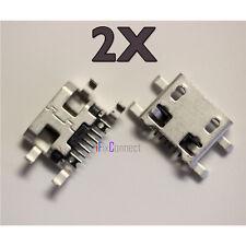 2 X New VERIZON LG OPTIMUS ZONE 3 VS425PP MICRO USB Charging Port Dock Plug USA