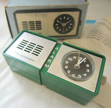 Rare Vintage Table ALARM Clock, Manual Winding, EMES Sonochron, Made in GERMANY