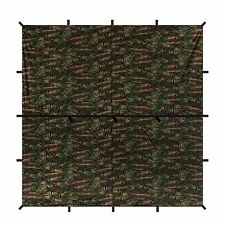 Aqua Quest Defender Tarp - 100% Waterproof Heavy Duty- 10 x 10 ft Square - Camo