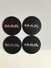 N.4 CAPS COPRIMOZZO MAK WHEELS ORIGINALI E009 65mm 8020001192 STERN