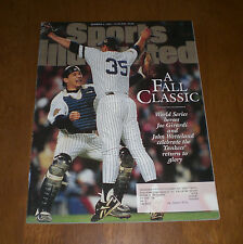 1996 NEW YORK YANKEES WORLD SERIES SPORTS ILLUSTRATED - A FALL CLASSIC