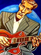 CHET ATKINS PRINT poster nashville cat cd gibson country gentleman archtop