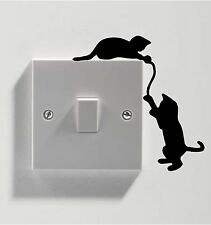 3 X CATS FOR LIGHT SWITCH STICKER VINYL DECAL ART GRAPHIC WALL ANY ROOM