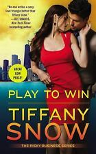 Risky Business: Play to Win 3 by Tiffany Snow (2016, Paperback)