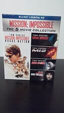 Mission: Impossible - The 5 Movie Collection [Blu-ray] - Brand New - Free S&H