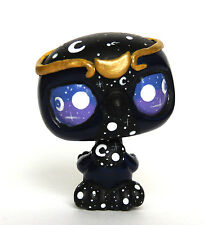 Littlest Pet Shop GALAXY Bird OOAK custom figure LPS Universe Stars Moon Crown