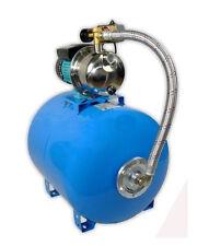 Wasserpumpe 1100W 60l/min 100 l Druckbehälter Gartenpumpe Hauswasserwerk Set