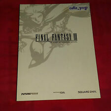 GUIDE OFFICIEL FINAL FANTASY III FUTUREPRESS FRANCAIS COMME NEUF