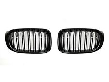 2011-2016 BMW X3 (F25) Replacement Gloss Black Front Grilles by AutoTecknic
