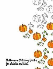 Halloweenscapes: Halloween Coloring Books for Adults and Kids by Halloween...