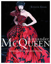 Alexander McQueen: Genius of a Generation, Very Good Condition Book, Kristin Kno